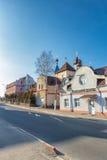 Calle de Pastavy Imágenes de archivo libres de regalías