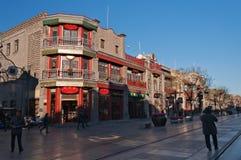 Calle de Pekín Qianmen Fotografía de archivo libre de regalías