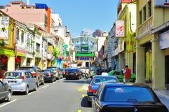 Calle de Petaling, Malasia fotos de archivo