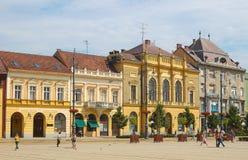 Calle de Piac - Debrecen, Hungría Fotos de archivo libres de regalías