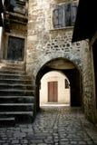 Calle de piedra Imagen de archivo