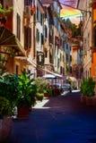 Calle de Piran imagen de archivo libre de regalías