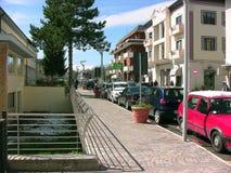 Calle de Porta Napoli fotografía de archivo libre de regalías