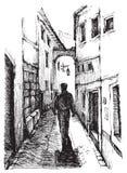 Calle de Portugal Imagen de archivo