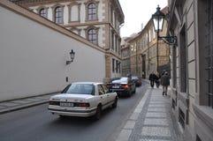 Calle de Praga Imágenes de archivo libres de regalías