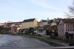 Calle de Praga Imagenes de archivo