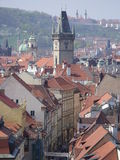 Calle de Praga Imagen de archivo libre de regalías