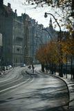 Calle de Praga, República Checa fotografía de archivo libre de regalías