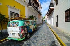 Calle de Puerto Rico imagen de archivo