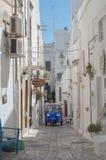 Calle de Puglia foto de archivo libre de regalías