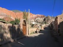 Calle de Purmamarca Fotografía de archivo libre de regalías