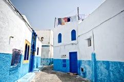 Calle de Rabat, Marruecos Fotografía de archivo libre de regalías