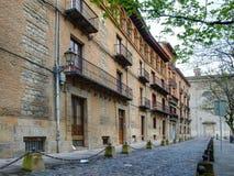 Calle de Recoletas foto de archivo libre de regalías