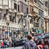 Calle de Roma Fotografía de archivo libre de regalías