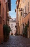 Calle de Roma Imagen de archivo libre de regalías