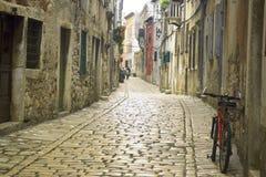 Calle de Rovinj Imagen de archivo libre de regalías