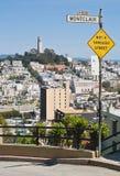 Calle de San Francisco Imagen de archivo