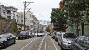 Calle de San Francisco Jackson almacen de metraje de vídeo