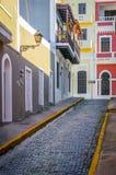 Calle de San Juan fotografía de archivo