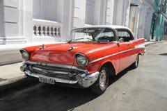 Calle de Santiago de Cuba Foto de archivo libre de regalías