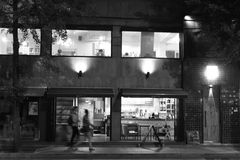 Calle de Seul fotografía de archivo libre de regalías