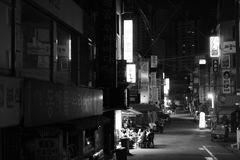 Calle de Seul fotos de archivo