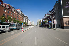 Calle de Shenyang Imágenes de archivo libres de regalías