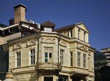 Calle de Shirok Sokak en Bitola macedonia Foto de archivo libre de regalías