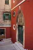 Calle de Sibenik Imagen de archivo libre de regalías