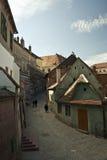 Calle de Sibiu (Rumania) Fotografía de archivo libre de regalías