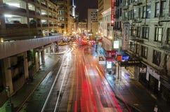 Calle de Stockton, San Francisco Imagenes de archivo