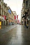 Calle de Taksim Istiklal Imagen de archivo libre de regalías