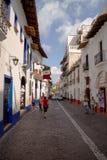 Calle de Taxco Foto de archivo libre de regalías