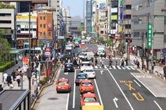 Calle de Tokio Imagenes de archivo