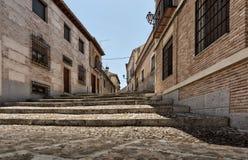 Calle de Toledo Foto de archivo libre de regalías