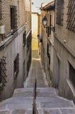 Calle de Toledo en España Fotos de archivo