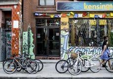 Calle de Toronto Imágenes de archivo libres de regalías