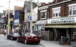 Calle de Toronto Imagen de archivo