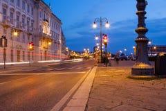 Calle de Trieste Imagen de archivo libre de regalías