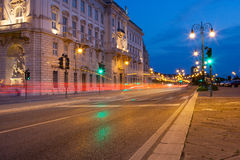 Calle de Trieste Fotos de archivo