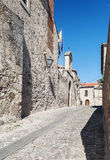Calle de Trujillo Imágenes de archivo libres de regalías