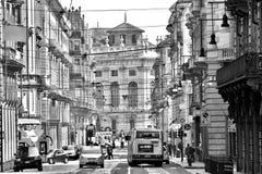 Calle de Turín Foto de archivo