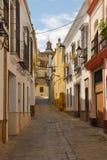 Calle de Utrera Fotografía de archivo libre de regalías