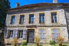 Calle de Vézelay Fotografía de archivo