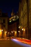 Calle de Valdstejnska foto de archivo