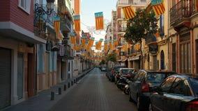 Calle de Valencia Imagenes de archivo