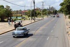 Calle de Varadero Fotografía de archivo