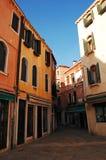 Calle de Venecia Imágenes de archivo libres de regalías