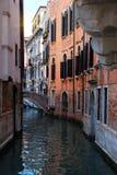 Calle de Venecia Foto de archivo libre de regalías