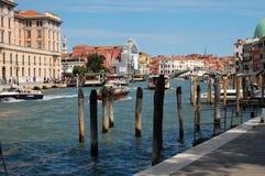 Calle de Venecia, Italia Imagen de archivo